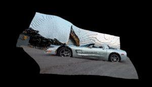 3D Vector Model of Corvette