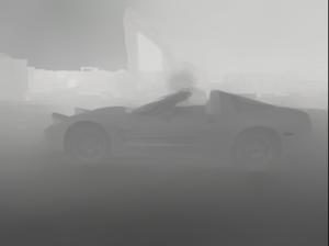 Corvette Depth Map