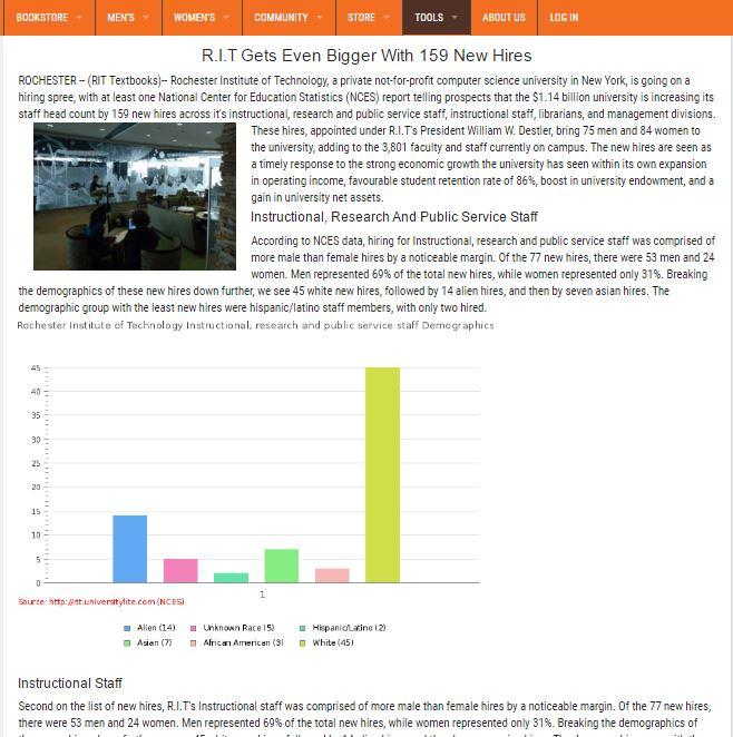 UniversityLite News Article Generation Sample