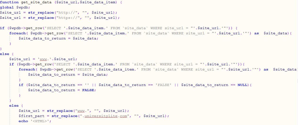 UniversityLite PHP Load Balance Example