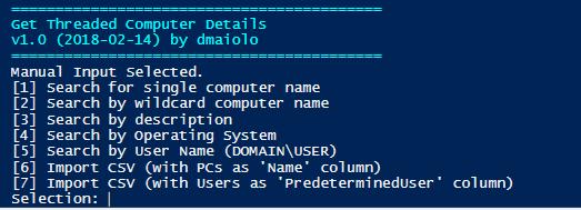 Threaded Computer Details Aggregator | David Maiolo - Resume