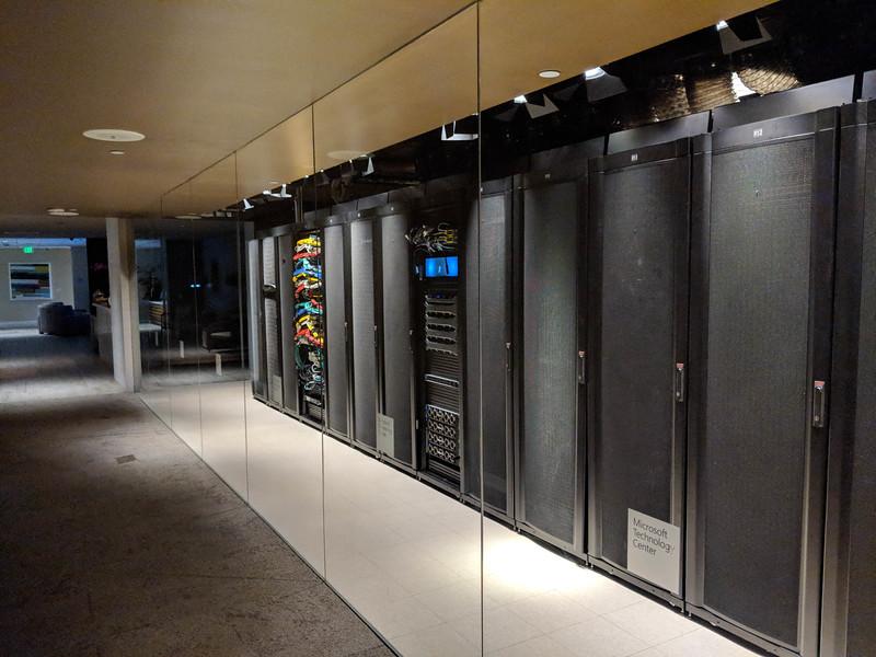 Server infrastructure in Irvine CA